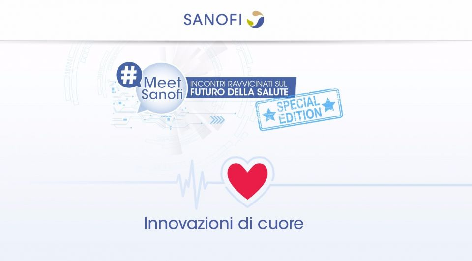 In occasione della Giornata Mondiale del Cuore,Sanofi dedica una speciale edizione di #MeetSanofi alle startup che hanno a cuore il nostro cuore.Il segmento dell'e-health cresce ogni giorno generando una moltiplicazione di incubatori,acceleratori e startup dedicate al medicale.In Italia sono 321 le startup incentrate sulla salute.Ma in che modo l'innovazione può migliorare i percorsi di prevenzione,educazione,cura e diagnosi cardiovascolare?Ne parleremo giovedì 29 settembre alle ore 18 nel Tempio di Adriano di Roma con Alex Zehnder (Sanofi),Emanuela Folco (FIPC),Celia Guimaraes (Rainews),Nicola Mattina (Talent Garden).E conosceremo le storie di innovazione delle startup del cuore made in Italy con Ottavio Crivaro (aXurge),Guido Magrin (Heartwatch),Vincenzo Telesca (Medea),Nicolo Briante (D-Hearth), Francesco Faita (Quipu).