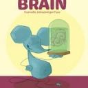 """BRAIN <br />Il cervello istruzioni per l'uso<br />Di Rob DeSalle, illustrazioni di  Gianfranco Enrietto<br /><br />20x28 cm<br />56 pagine<br />50 illustrazioni<br />cartonato<br />24 ORE Cultura<br />19,00 €<br />Età: 8-14 anni<br />In libreria a dicembre 2013<br /><br />Brain. Il cervello istruzioni per l'uso, pubblicato da 24 ORE Cultura in occasione dell'omonima mostra a Milano (Museo di Storia Naturale 18 ottobre 2013 – 13 aprile 2014), si propone di spiegare al pubblico dei più piccoli una materia complessa come quella del funzionamento del cervello.<br />Con un allegro percorso a fumetti curato dal biologo molecolare Rob DeSalle e illustrato dal """"padre"""" dei Gormiti, Gianfranco Enrietto, il libro svela i segreti più reconditi del mondo del pensiero.<br />Wallace e Darwin, topolini di museo, accompagnano il lettore in un affascinante viaggio all'interno del cervello. Spinti da una curiosità contagiosa, li vedremo esplorare cervelli grandi e piccoli, leggeri e pesanti, cortecce, sinapsi, sistemi nervosi, sistemi motori e sistemi sensoriali. Alla scoperta di come dormiamo, come percepiamo le cose, come sogniamo, come ricordiamo, e persino di come pensiamo!<br />Rob DeSalle è biologo molecolare presso l'Institute for Comparative Genomics dell'American Museum of Modern<br />History. Vive a New York, ad Alphabet City.<br />Gianfranco Enrietto, diplomato presso la Scuola d'arte applicata all'industria del Castello Sforzesco di Milano, è il disegnatore della linea di giocattoli Gormiti."""