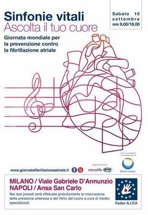 Giornata mondiale contro FA 2016 Sinfonie Vitali