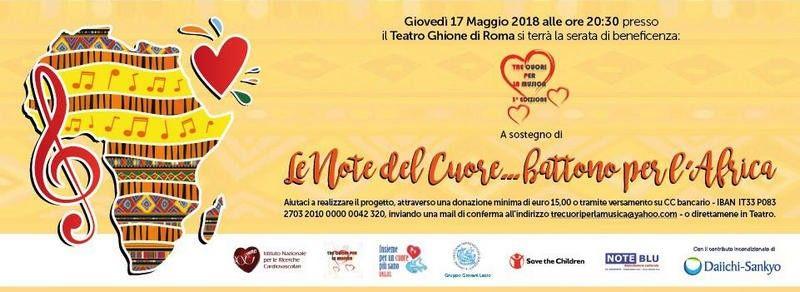 Cardiologi musicisti in concerto per il cuore dei bimbi africani