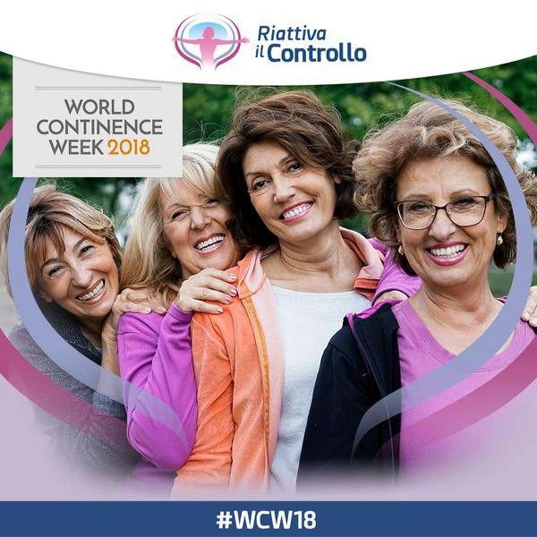 riAttiva il controllo - World Continence Week 2018 #WCW18