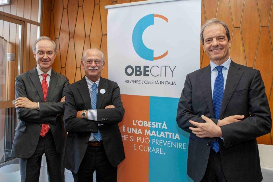 Nella foto Enzo Nisoli, Michele Carruba e Claudio Maffeis