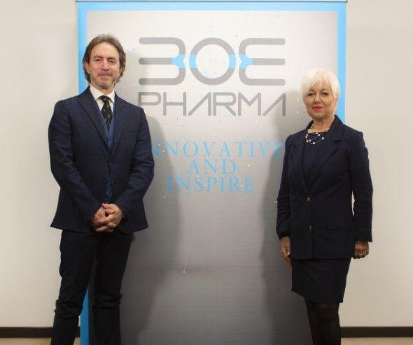 Marco Benedetti e Liliana Abrami