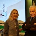La nutrizionista della Prova del Cuoco Evelina Flachi e il Dr.Alberto Ambreck