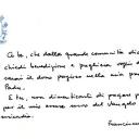 La scrittura di Papa Francesco