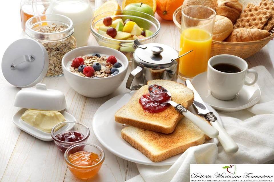 colazione dieta mediterranea