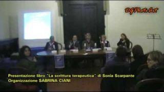 Presentazione Libro La scrittura Terapeutica di Sonia Scarpante - organizzazione Sabrina Ciani