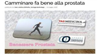 Camminare fa bene alla prostata. Urologo a Roma, Milano, Cosenza e Viterbo