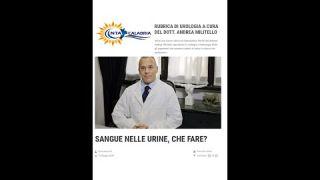 Sangue nelle urine, che fare? Urologo in Calabria. Dr Andrea Militello