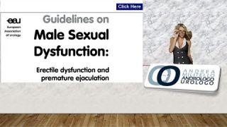 Disfunzione erettile Le linee guida e la personalizzazione della cura. Dal cialis alle onde d'urto