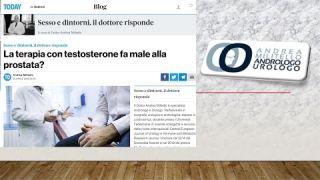 La terapia con testosterone fa male alla prostata? Urologia Roma Milano Cosenza Viterbo Avezzano